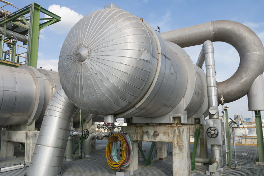 Refinery Process Heat Exchanger